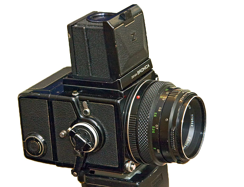 Bronica ETR-C Missing frames and light leaks