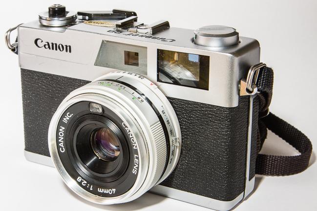 Canon Canonet 28 Rangefinder