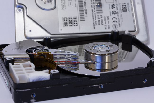 Hard Drive Uncovered