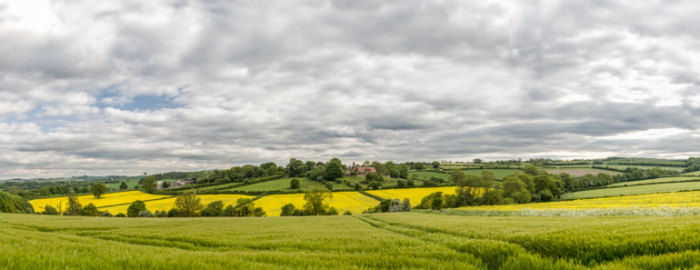 Panorama towards Stainsby