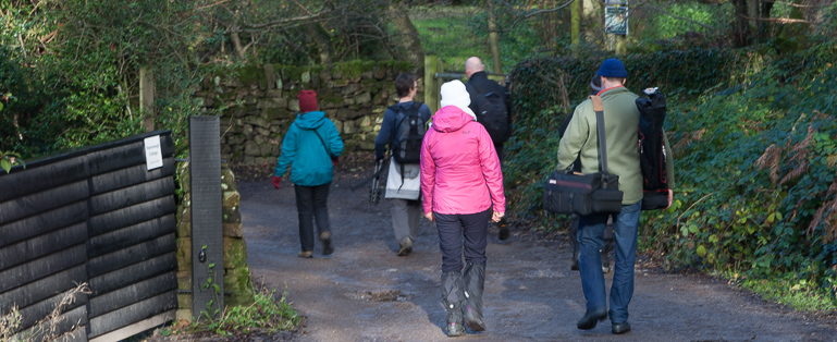 Forum Meet up in Grindleford to see Padley Gorge
