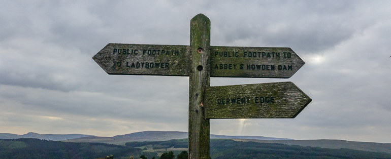 Just Sharing a walk around Derwent Edge