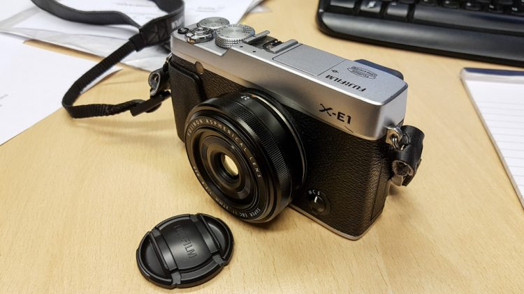 My latest camera system..Fuji X series